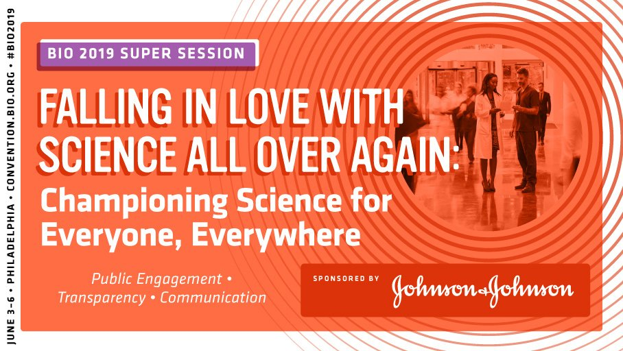 How can we enlist more champions of science across generations and geographies? Hear from @JNJInnovation's Seema Kumar & @DrSidMukherjee in this #BIO2019 Super Session. http://bit.ly/2LSNsvr