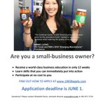 Image for the Tweet beginning: Small Biz Owners! Join Minnie