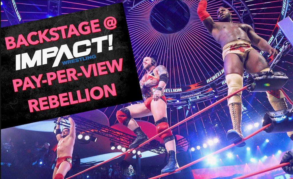 Be among the first to get this special peek at @OfficialEGO's new video, going behind the scenes at #IMPACTRebellion!http://youtu.be/nJEHPEgMpwQ