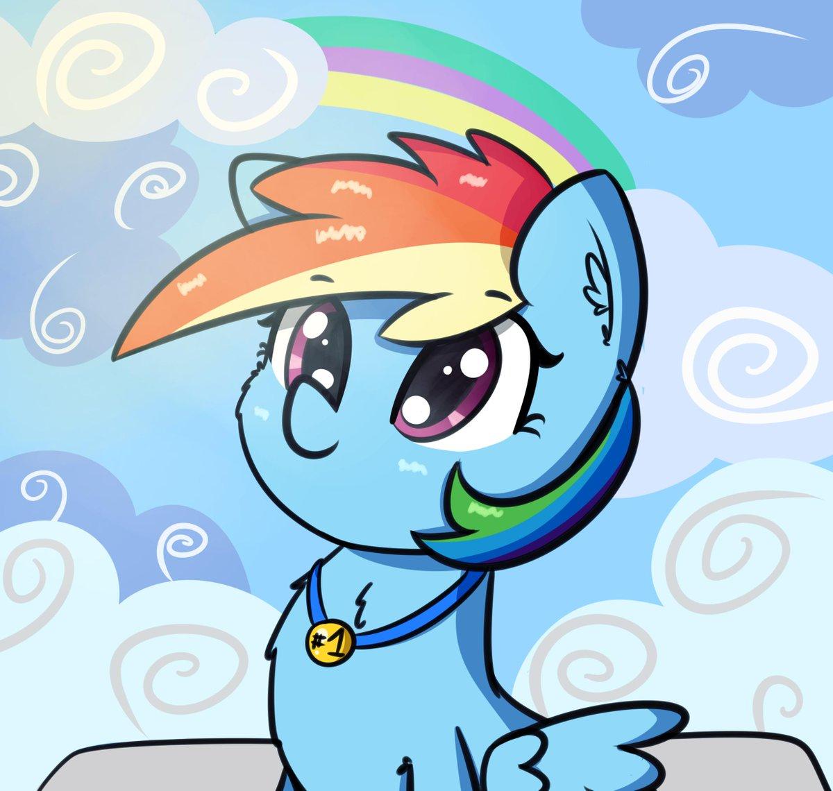 She won. #mlp #RainbowDash #brony<br>http://pic.twitter.com/TTkl1xHbSN
