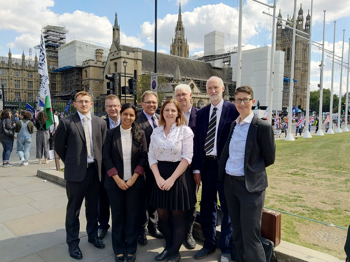 Colleagues from across N8 AgriFood, and @TechFoodNetwork have been in London today as part of a @POST_UK briefing to MPs and peers on the future of #agritech. Another great policy engagement example we will be talking about during N8 AgriFood Policy Week in June #N8AFpolicy<br>http://pic.twitter.com/hS4YCyY5Fu