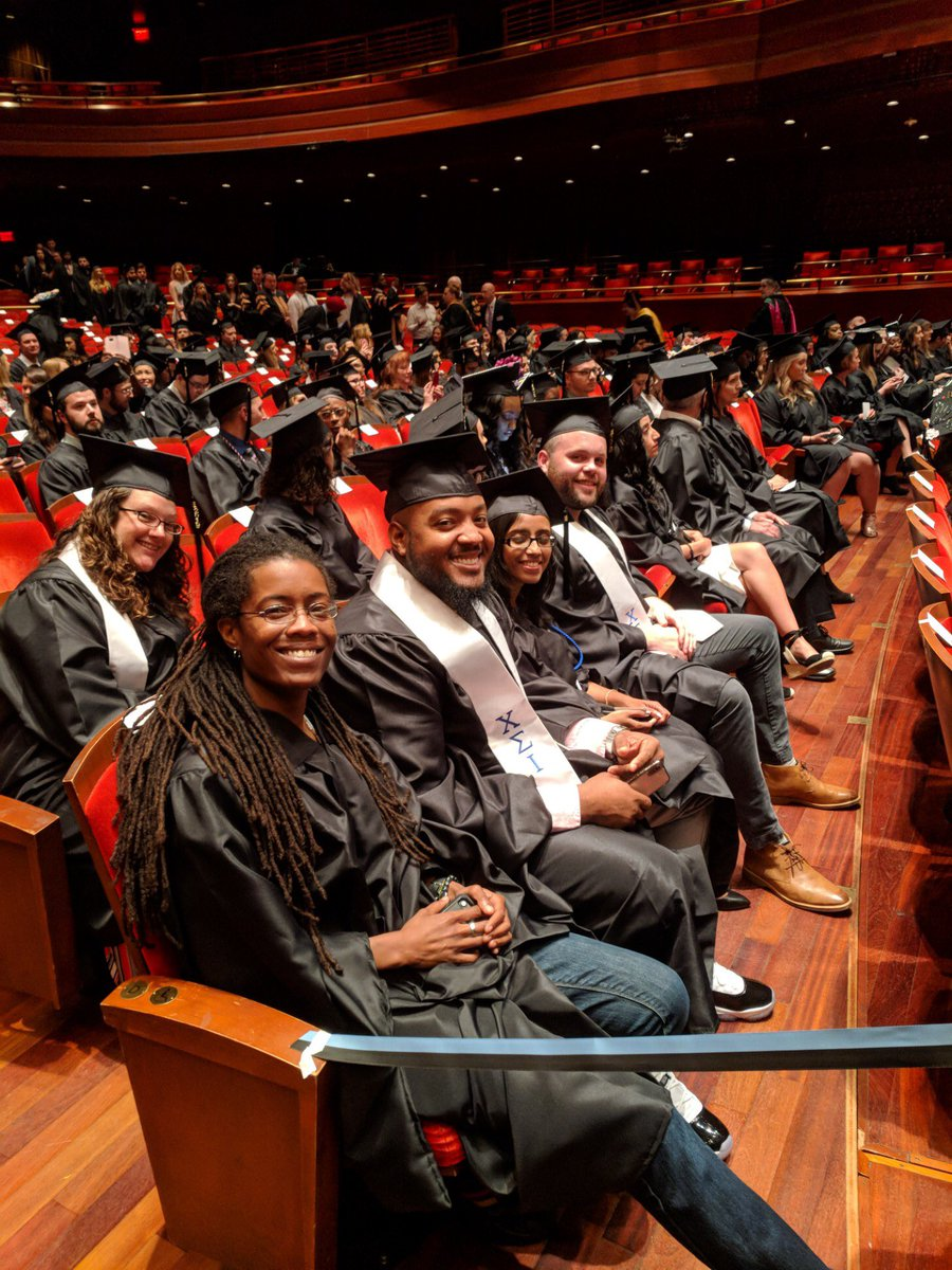 It's #commencement @JeffersonUniv! We are so very proud of our CTC Class of 2019! #WeImproveLives #trauma #counseling