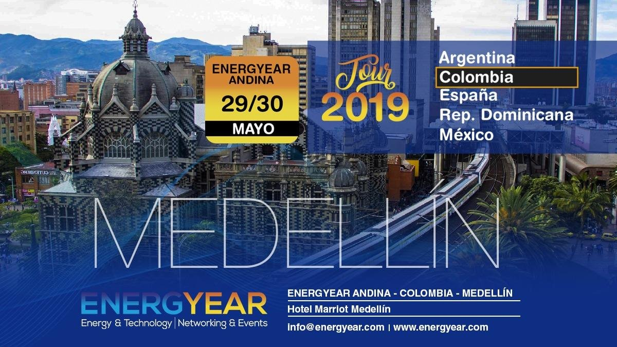 I'm looking forward to learning more about #Colombia's energy sector at @NRGyear #Energyear next week in #Medellín! Colombia has world-class potential for #RenewableEnergy with some big opportunities for utility-scale solar and microgrids in rural communities.#GreenBiz