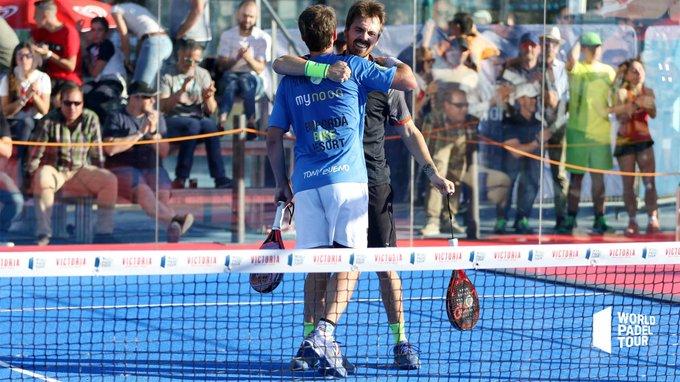 Javi Garrido y Martín Di Nenno vencieron en la final de la previa del Jaén Open