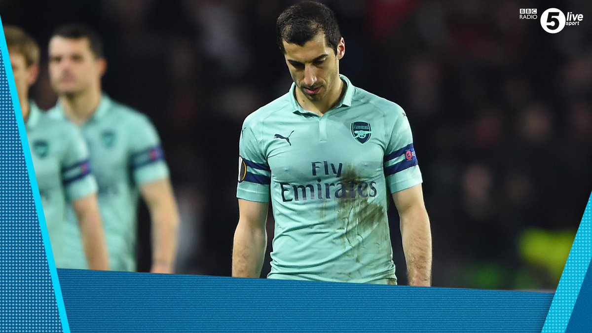 'I must admit, it hurts me a lot to miss it.'Henrikh Mkhitaryan will not be playing in the Europa League final.@SamWallaceTel, @sistoney67 and @JonWalters19 will be going through it all tonight from 7:30pm.You can listen here : http://bbc.in/2HMdY4z
