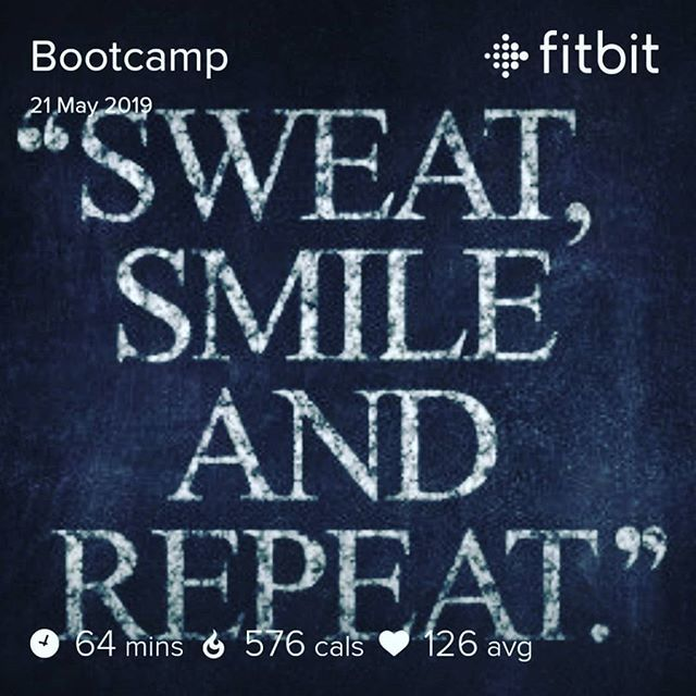 A little sweat never hurt anyone  #mytshirtsaiditnotme #elitebootcamp