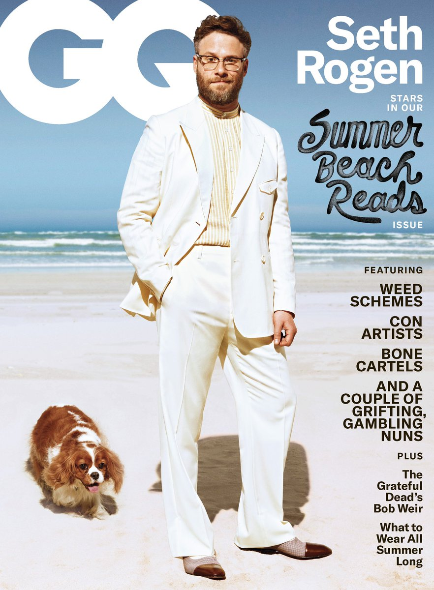 ZELDA IS ON THE COVER OF GQ! I'VE NEVER BEEN MORE PROUD.