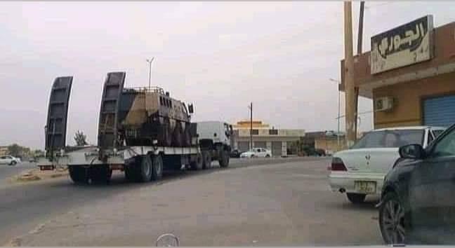 ظهور مدرعات الاردنية المارد 8x8 و المومباي 6x6 و الوحش 4x4 في ليبيا D7GCgdhXsAEd1Nf