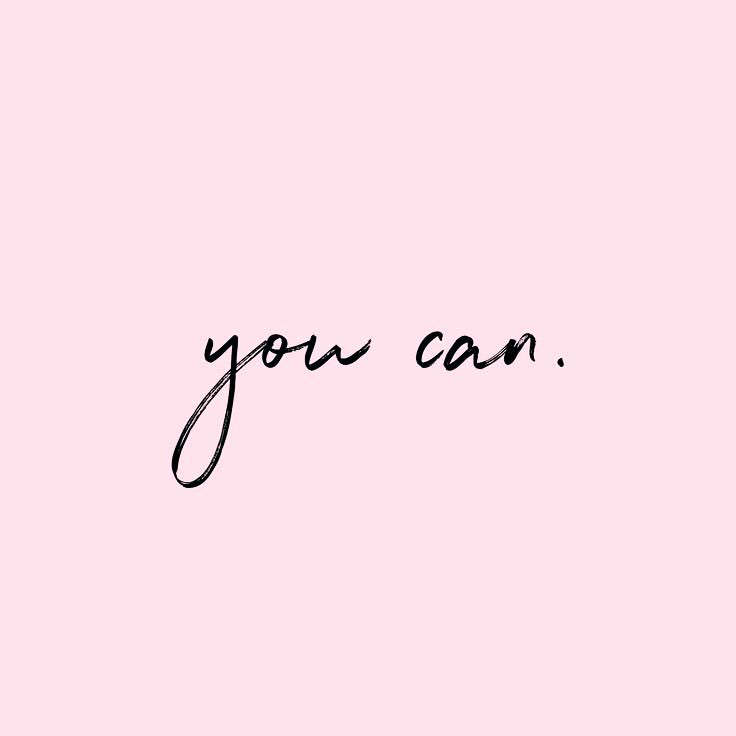 Today is graduation day for my students. All of them are proof of these two words: you can. No matter what comes your way, you can. Regardless of obstacles, setbacks and fears, you can.