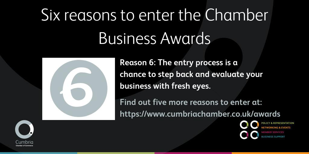 test Twitter Media - Here's the last of our six reasons to enter the Chamber Business Awards - don't miss out on your chance to represent Cumbria as a winning business. Find out more and enter here: https://t.co/DCDwcPxEQv @Chamber_Awards #ChamberAwards https://t.co/x1RBCkpmpa