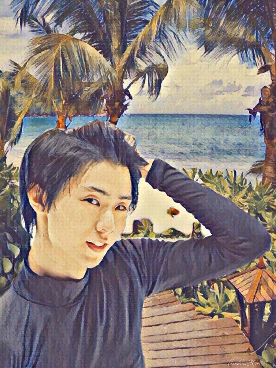 Beyond the sea. 🌊 #YuzuruHanyu #羽生結弦 #GetwellsoonYuzu #LoveYuzuruFromAllOverTheWorld