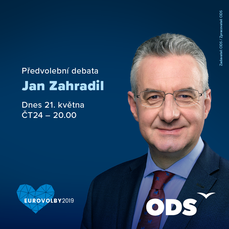 Debata lídrů kandidátek do eurovoleb!🇨🇿 🇪🇺 Sledujte @ZahradilJan dnes od 20:00 na @CT24zive