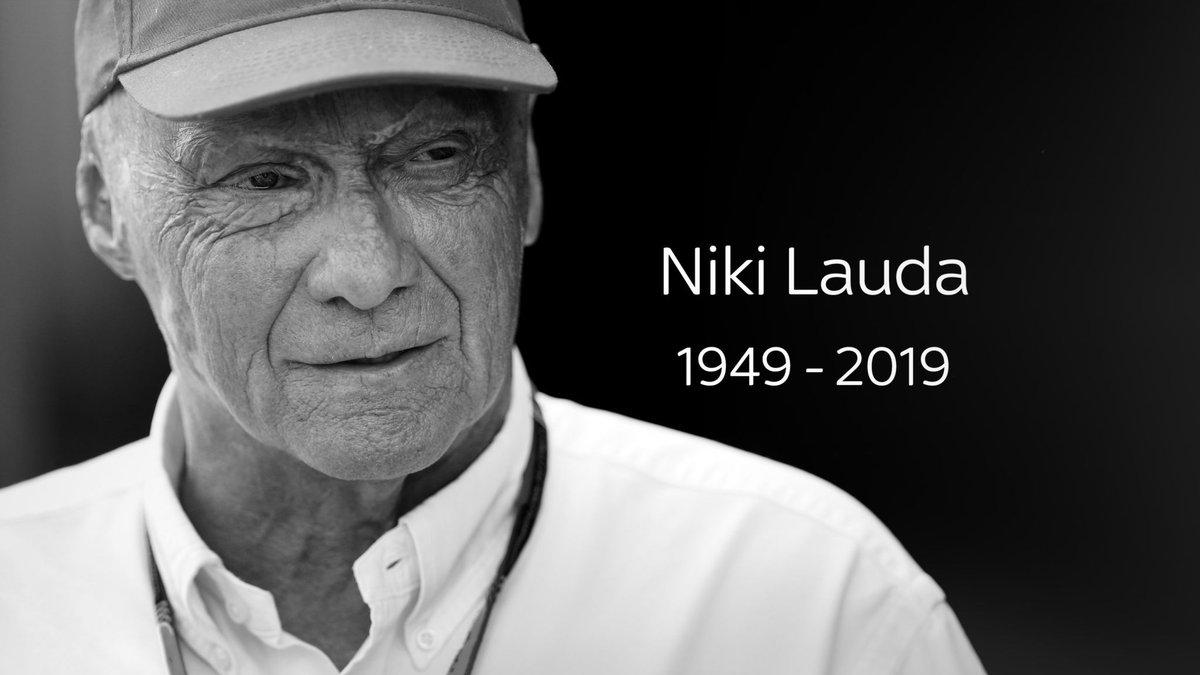 #RestInPeace #RIP #NikiLauda #RIPNikiLauda #RIPNiki #RestInPeaceNikiLauda