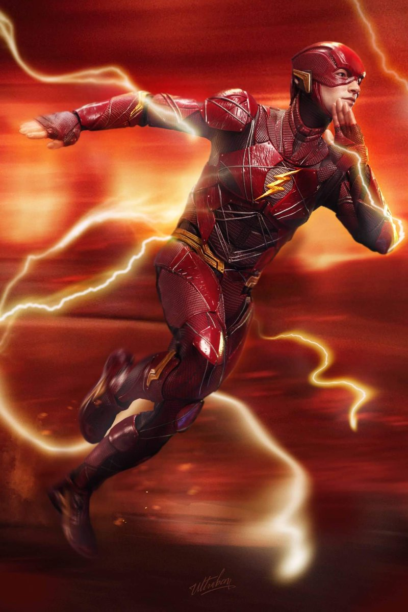 Awesome pics of the #Flash figure (#JusticeLeague serie ) by HotToys