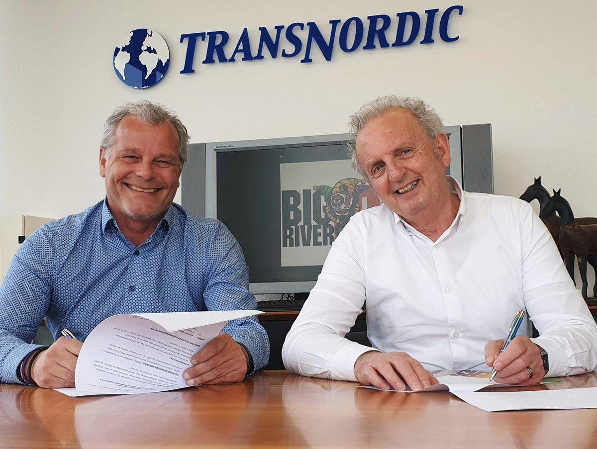test Twitter Media - Chris Kirchs, de frontman van Skeftum, heeft met zijn transportbedrijf Transnordic een 3-jarige overeenkomst getekend voor de sponsoring van het Big Rivers Festival.  https://t.co/CSpHSiSAns https://t.co/scV791FfAe