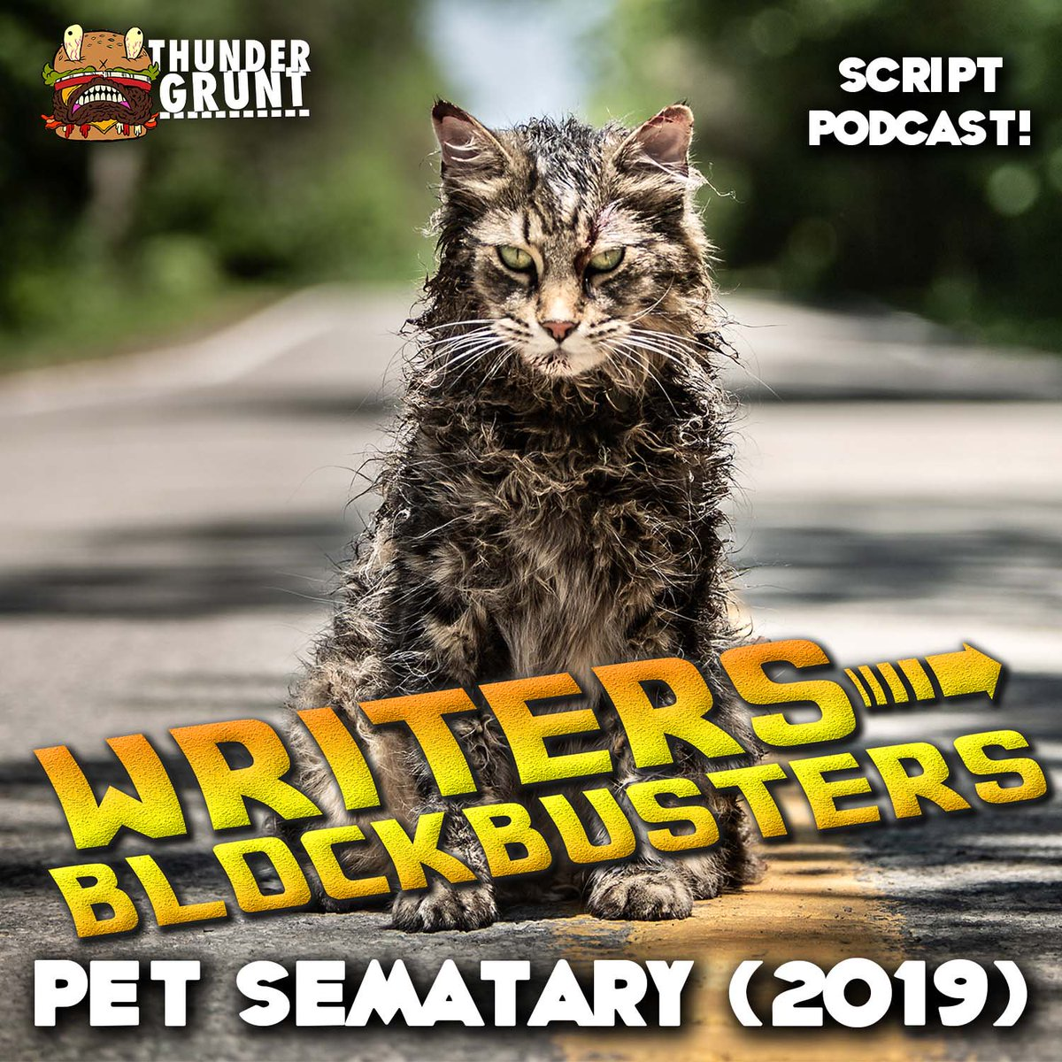 Our podcast WRITERS/BLOCKBUSTERS examines hit movies for #screenwriting tools and techniques.   This week with @ThunderGruntBob, @Jamie_Nash and I ponder whether dead is better and discuss lessons learned from PET SEMATARY!   https:// thundergrunt.com/e/writersblock busters-032-pet-sematary-2019/ &nbsp; …  <br>http://pic.twitter.com/XF3UjuePQL