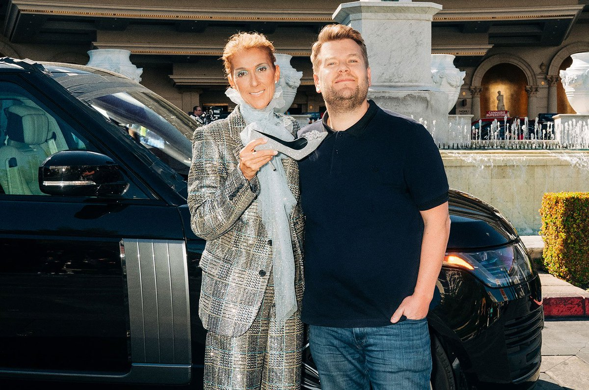 Watch: @CelineDion sings hits, recreates &#39;Titanic&#39; and learns &#39;Baby Shark&#39; in Vegas #CarpoolKaraoke  https:// blbrd.cm/adlrpi  &nbsp;  <br>http://pic.twitter.com/MECOZ4Gcpm