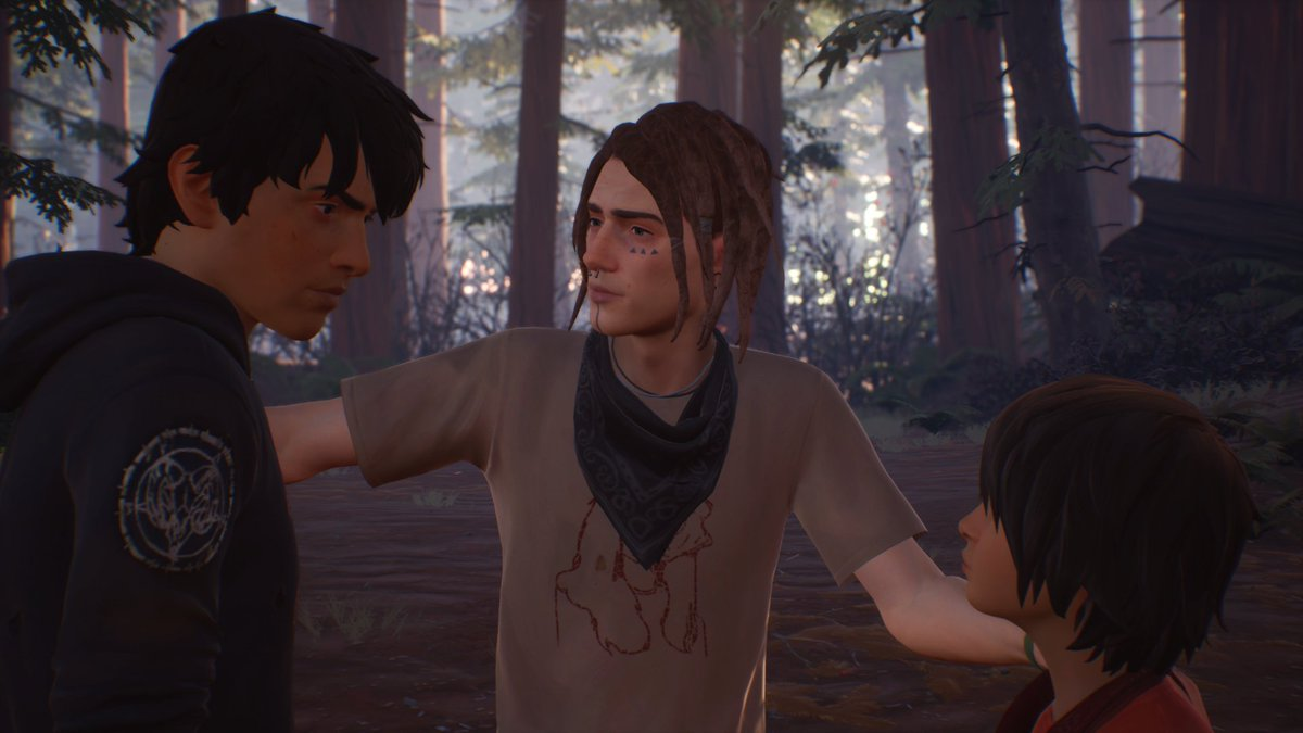 'Life is Strange 2 continues to shine on a stylistic level. The art is fantastically expressive and vibrant, while Sean's sketches look great and offer a rewarding moment of respite.'Read @TechRaptor's #LifeisStrange 2 EP3 full review here: https://techraptor.net/content/life-is-strange-2-episode-3-wastelands-review…