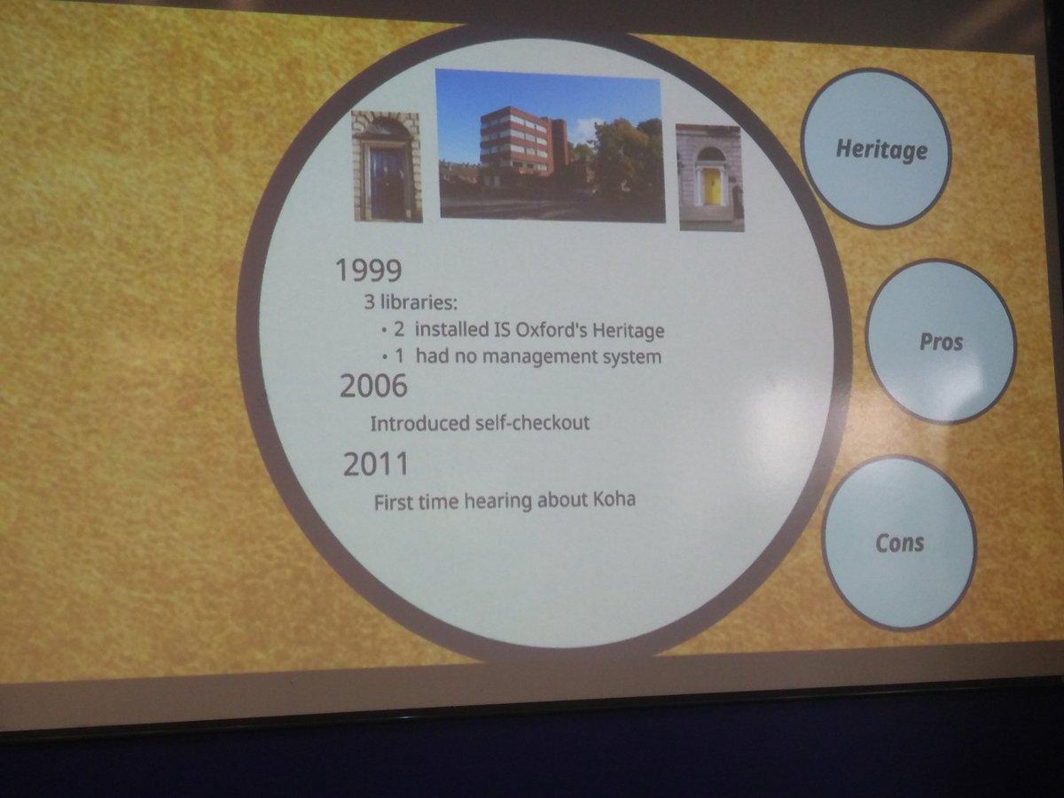 test Twitter Media - RT @kohails: Library history for he Dublin Institute for Advanced Studies #kohacon19 https://t.co/x7O4cJpyxI