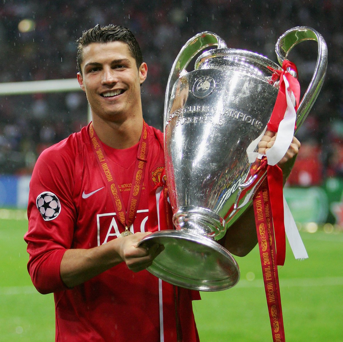 Cristiano Ronaldo won his first #UCL title #OTD 11 years ago. The rest is history...#UCLfinal