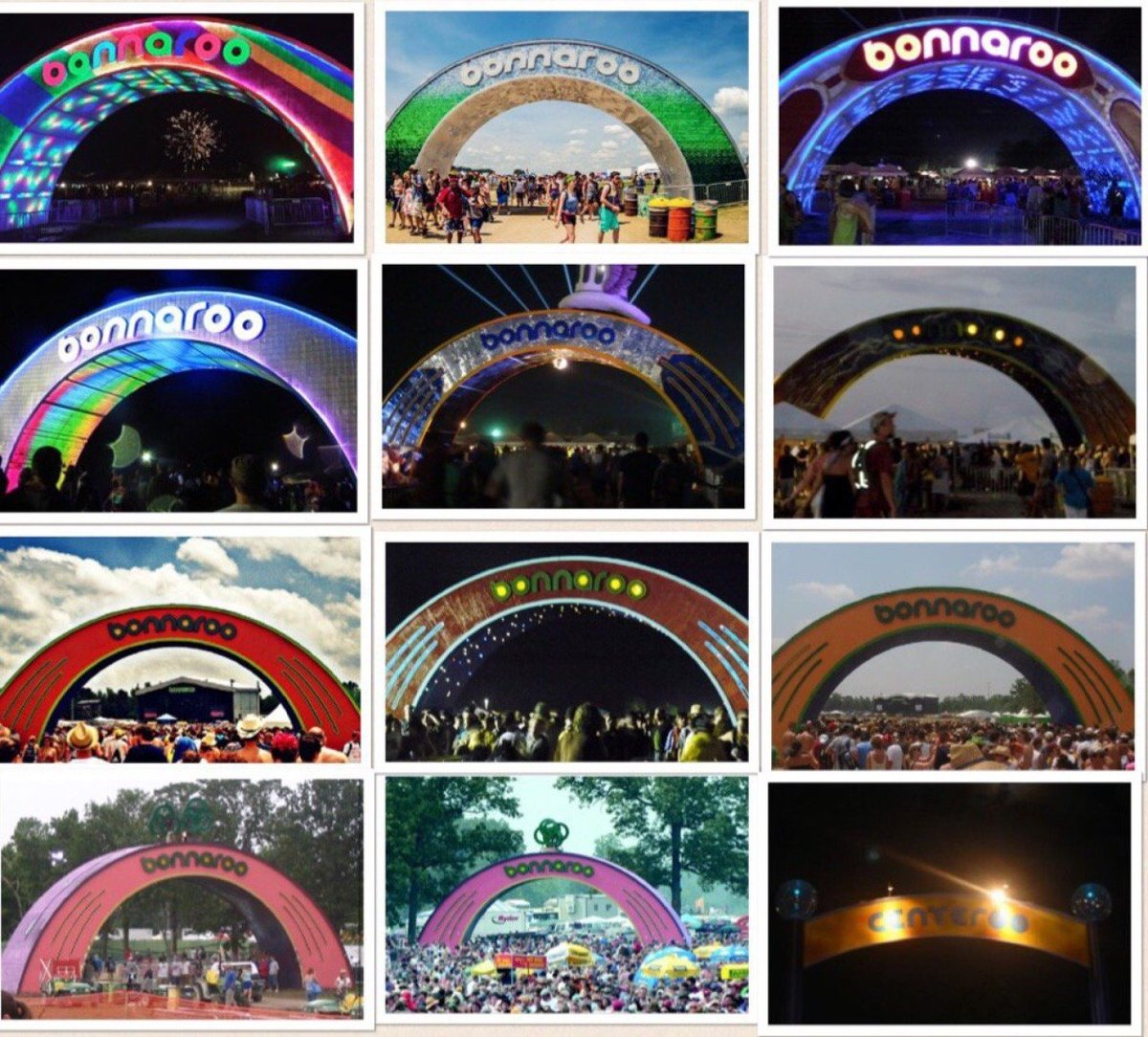 RIP Bonnaroo arch: Landmark burned, dismantled due to 'structural issues'
