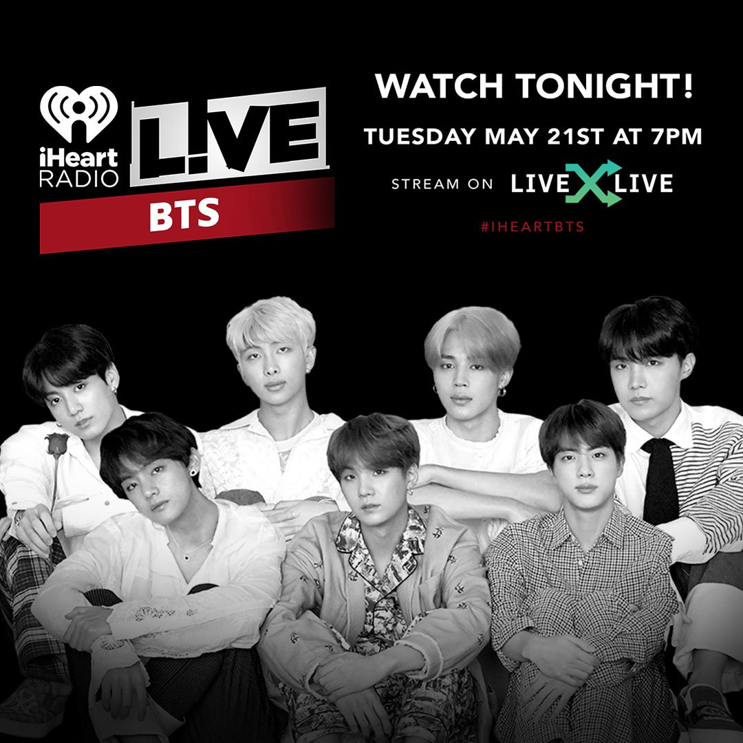 iHeartRadio's photo on #BTSxNYC