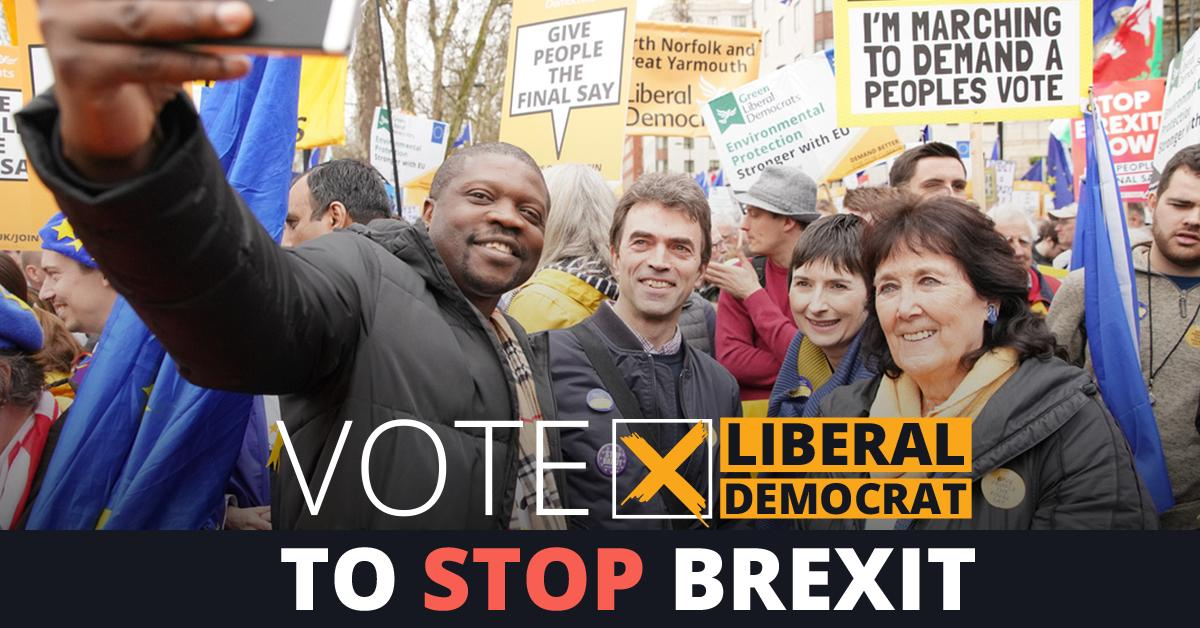 Whether you always voted for us Sometimes vote for us Or have never voted for us  Vote @LibDems on Thursday to #StopBrexit    #EuropeanElections2019<br>http://pic.twitter.com/lin7OKxxUy