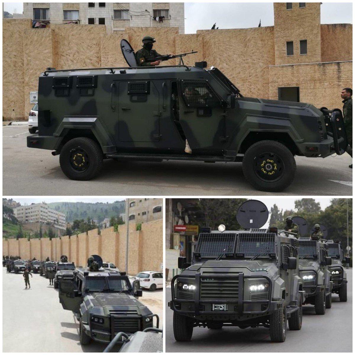 إسرائيل تسمح بإدخال سيارات مصفحة للسلطة الفلسطينية D7GSlbeXoAEjWm-