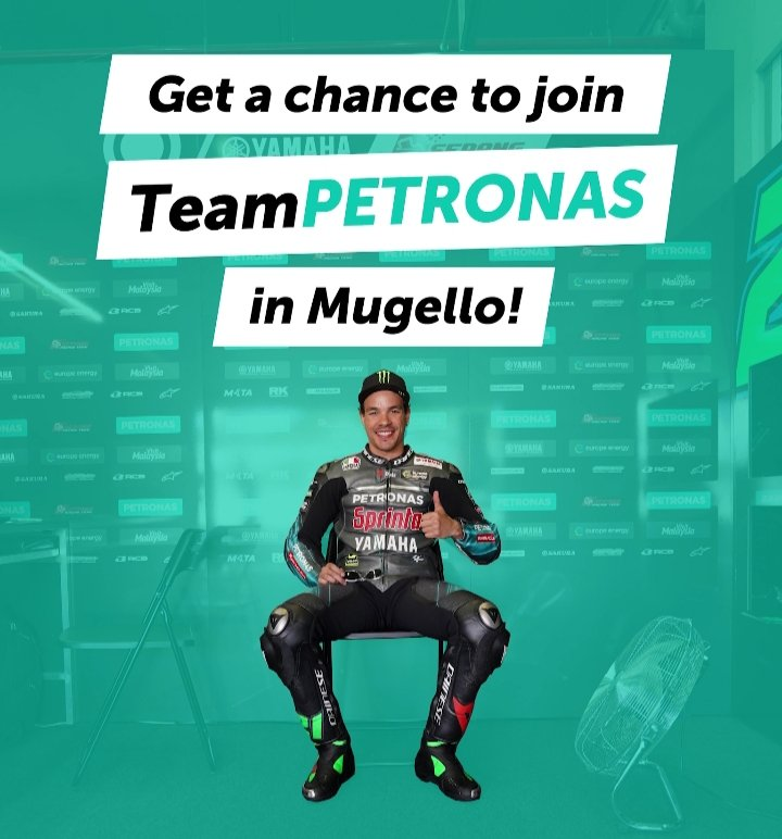Surprise! 🎉 Get the chance to win 2 paddock passes and join the #TeamPETRONAS family at the #ItalianGP 🇮🇹!  Follow this link to our Instagram page and participate! 🙌 http://bit.do/ItalianGP   #PETRONASmotorsports #MotoGP