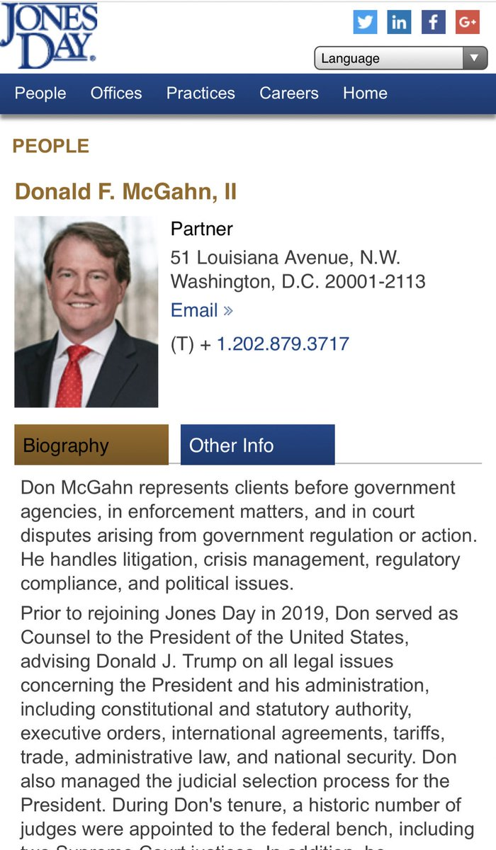 This whole system is corrupt! Trump's regime and Republicans are paying millions to Jones Day where McGahn works. No wonder he is defying Congress. Follow the money flowing from Russian oligarchs and Republicans