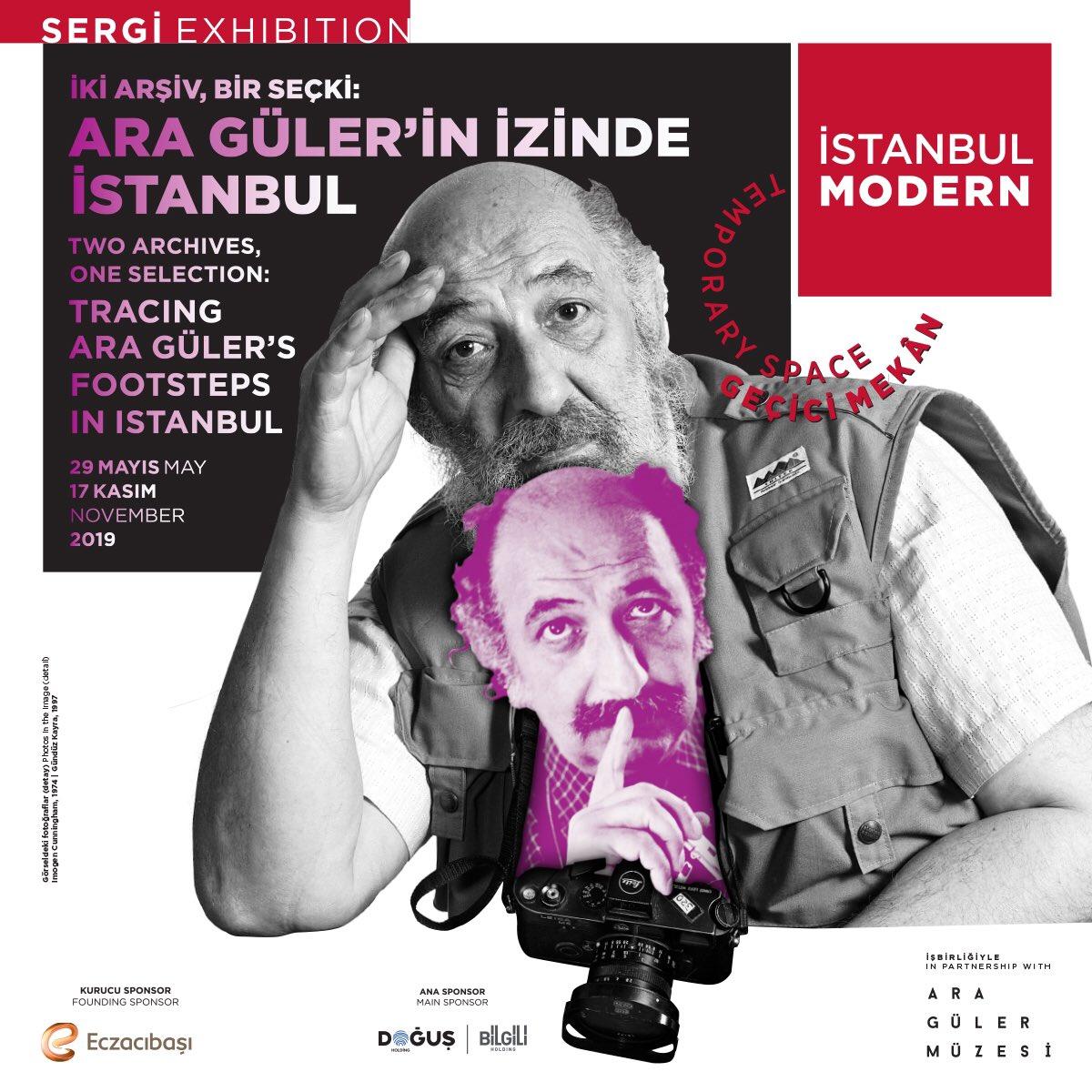 """İstanbul Modern Fotoğraf Galerisi'nin Ara Güler Müzesi işbirliğiyle hazırladığı """"İki Arşiv, Bir Seçki: Ara Güler'in İzinde İstanbul"""" adlı sergi 29 Mayıs'ta açılıyor. Sergide Ara Güler'in gözünden 1950'lerden itibaren İstanbul'un yaşadığı değişimin izi sürülüyor."""
