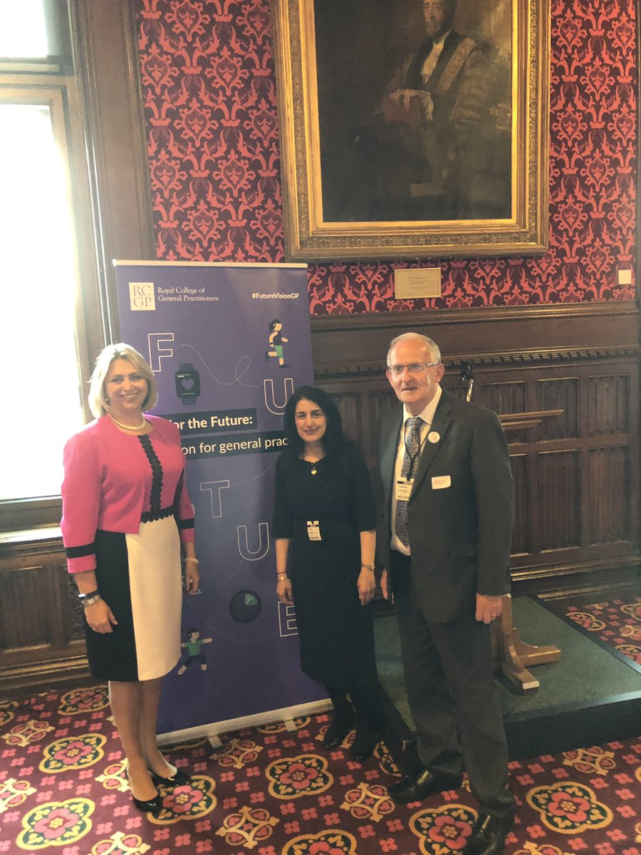 We are preparing for our report launch in Parliament with our patient group chairs #FutureVisionGP we'll be sharing your vision with MPs, Lords and Ministers