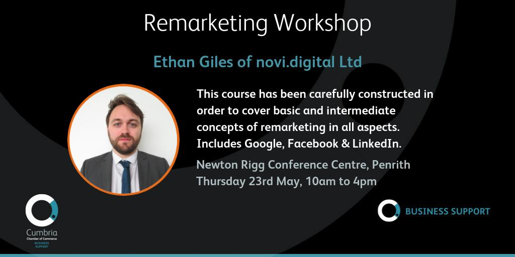 test Twitter Media - Remarketing workshop with Ethan Giles for https://t.co/gP5YGeEYap Ltd @novidigital on Thursday 23rd May, 10:00 am - 4:00 pm @ConferencesNrc Full details and booking at https://t.co/BcLOIP9RuO https://t.co/uBMfrNMpg9