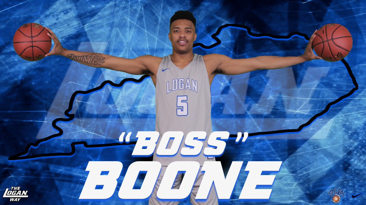 """Excited to announce the signing of Eric """"Boss"""" Boone! Boone is a Lexington, KY native who joins us by transfer from Tallahassee CC. Welcome to the Logan Family """"Boss""""! #TheLoganWay<br>http://pic.twitter.com/jp1IKEei2i &ndash; à John A. Logan"""