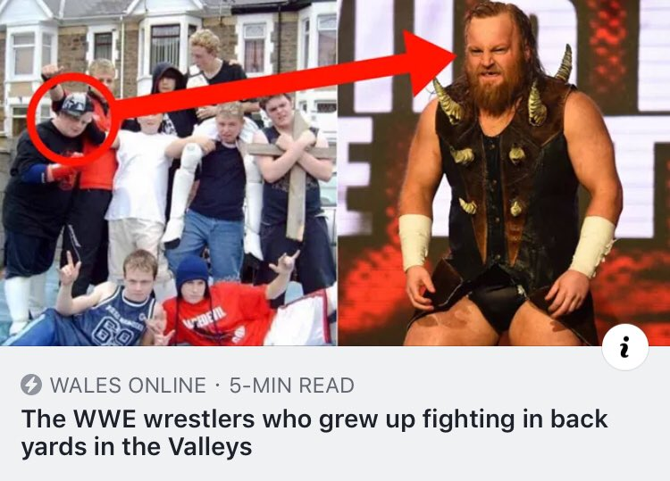 From the Back Gardens of Blaenau Gwent to the Bright lights of @WWE .@WalesOnline document mine and @WILDBOARhitch 's journey from the welsh valleys to the biggest wrestling company in the world.https://www.walesonline.co.uk/news/wales-news/wwe-wrestlers-who-grew-up-16302414 …
