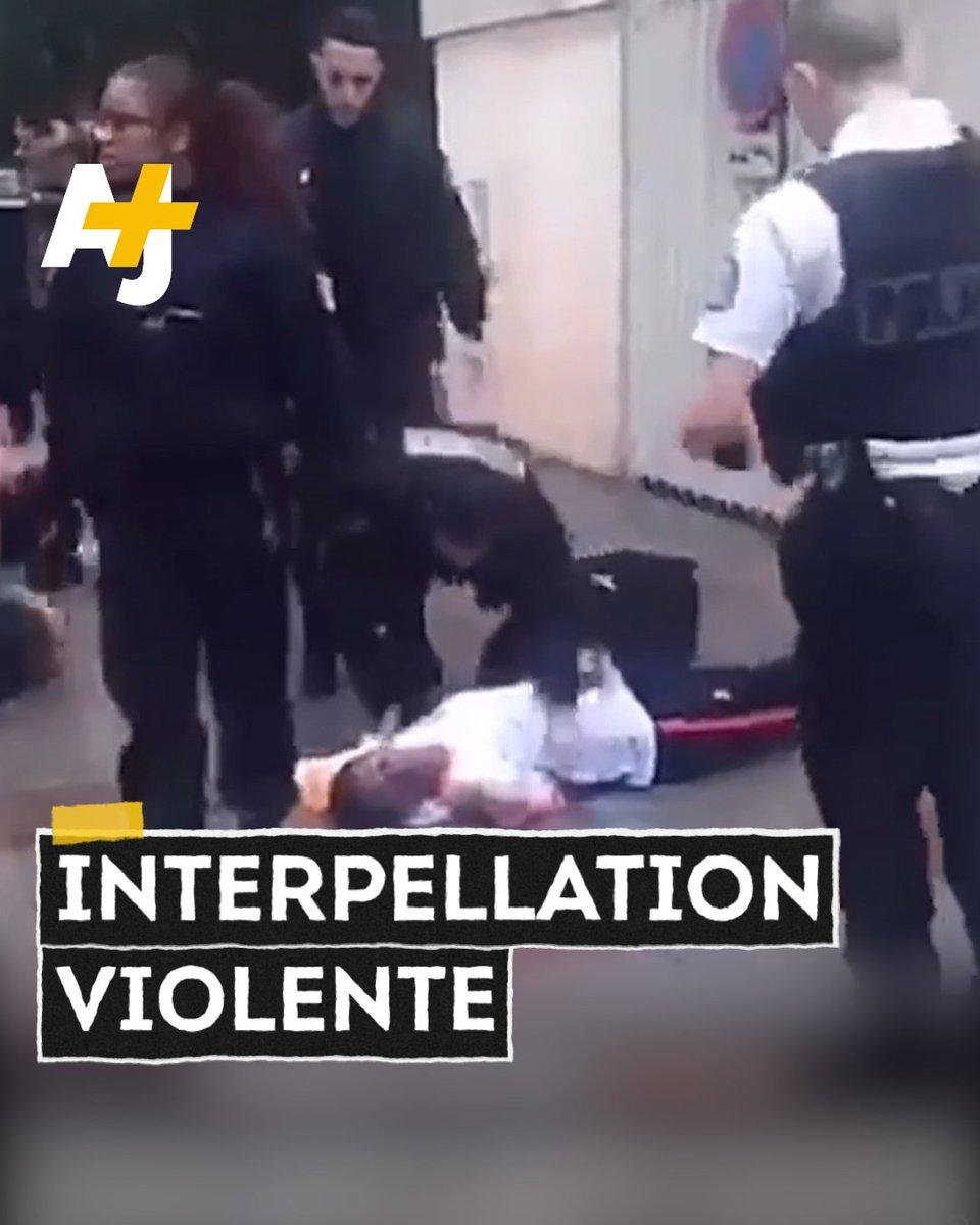 """""""Il fait une crise putain !"""" Christopher a été pris de convulsions alors qu'il était menotté au sol. Les policiers de Levallois-Perret sont accusés de violences policières."""
