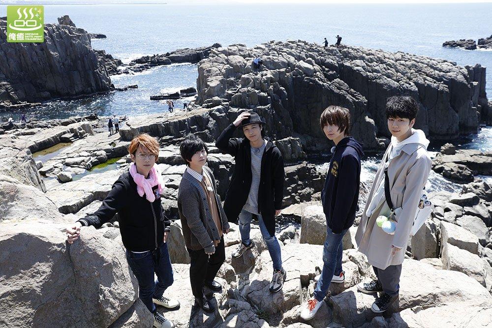 江口拓也さん、お誕生日おめでとうございます!俺癒が2016年1月にスタートし、今や大王グループにまで拡大したのも江口さんあってこそです。今後ともよろしくお願いします。写真は10月発売予定のDVD『俺癒特別編 福井と富山の旅』、7月放送の『そま君 其の弐』より#江口拓也誕生祭2019 #俺癒 #そま君