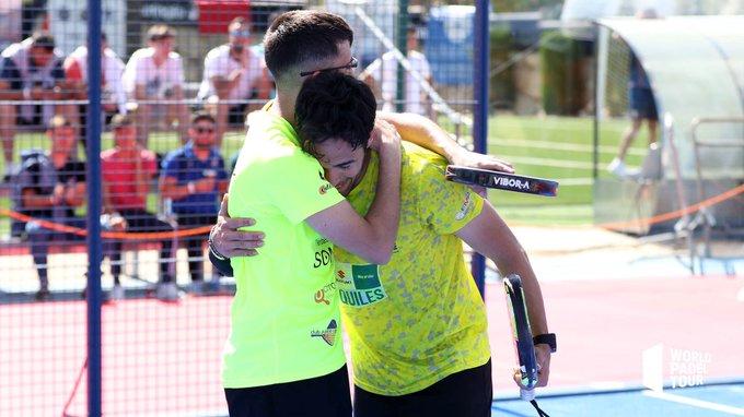Francisco Gil y Sergio Alba se clasifican por primera vez para el cuadro final
