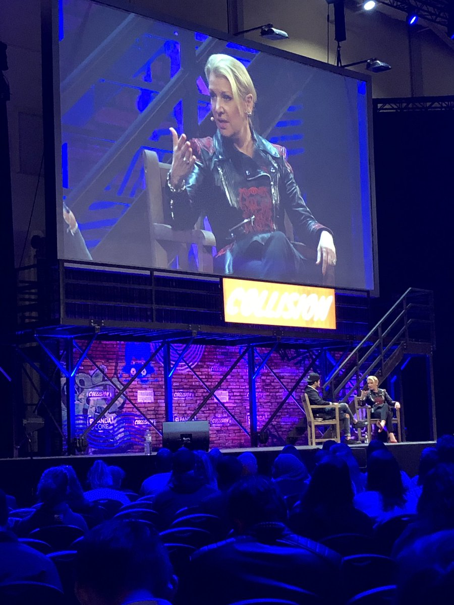 Always-on communications key says always-fabulous @mindygrossman #Collision2019