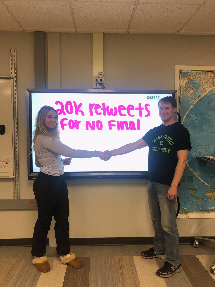 20,000 RETWEETS FOR US TO HAVE NO FINAL!!! help us out!!!