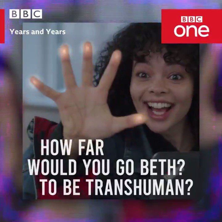 """""""The whole world's changing."""" """"What a mess.""""Thanks for joining us for #YearsAndYears and see you next week."""