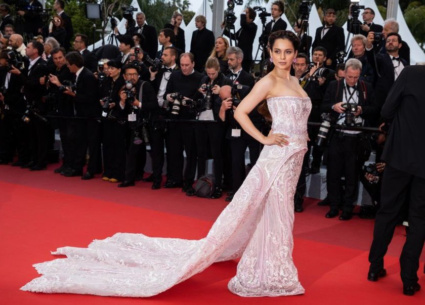 Kangana at the screening of #PainAndGlory at the 72nd edition of the Cannes Film Festival #KanganaAtCannes
