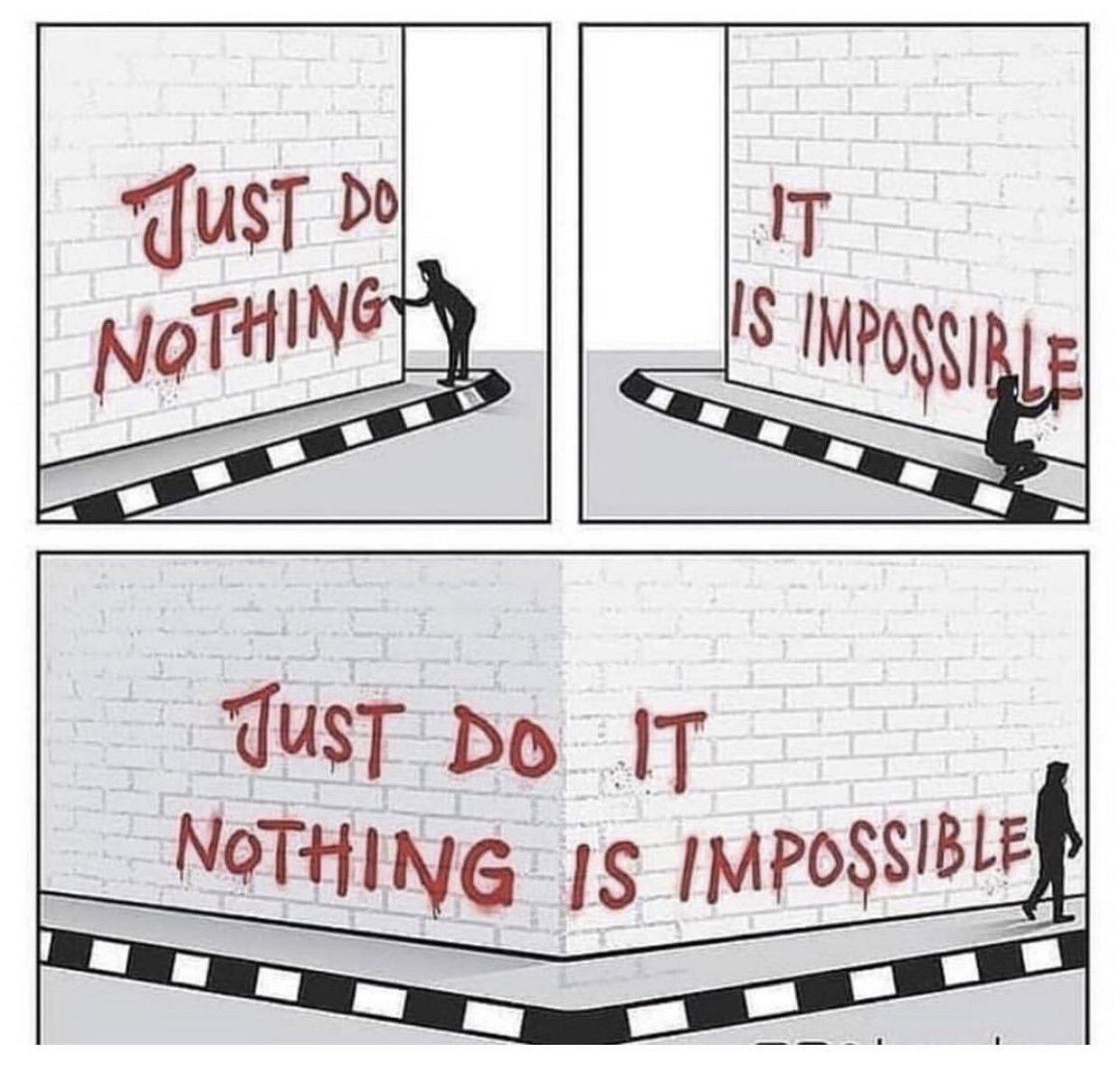 Nothing is impossible! #RiseAndGrind <br>http://pic.twitter.com/SK5yyDCqZZ