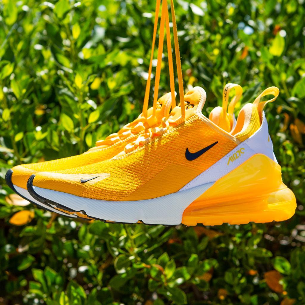 WMNS Yellow Nike Air Max 270
