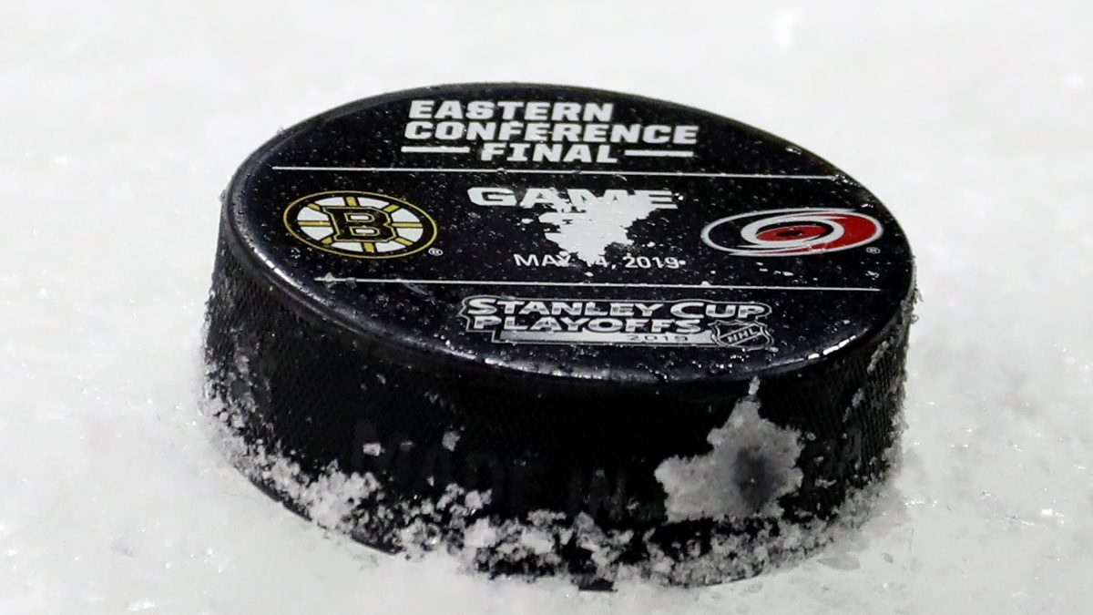 WATCH LIVE: Bruins go for sweep vs. Hurricanes in Game 4 #Hurricanes  https://t.co/lGdUrn3uaS https://t.co/FbsPWw1Rdm