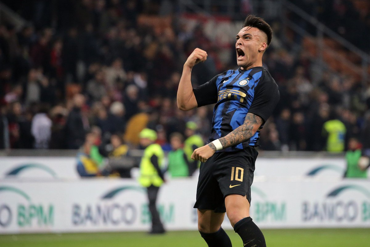 @muhammadbutt Lautaro Martínez was directly involved in eleven goals in his 34 matches for Inter Milan across all competitions in 2018/19: ⚽ 9 goals 🎯 2 assists A decent first season in Europe.