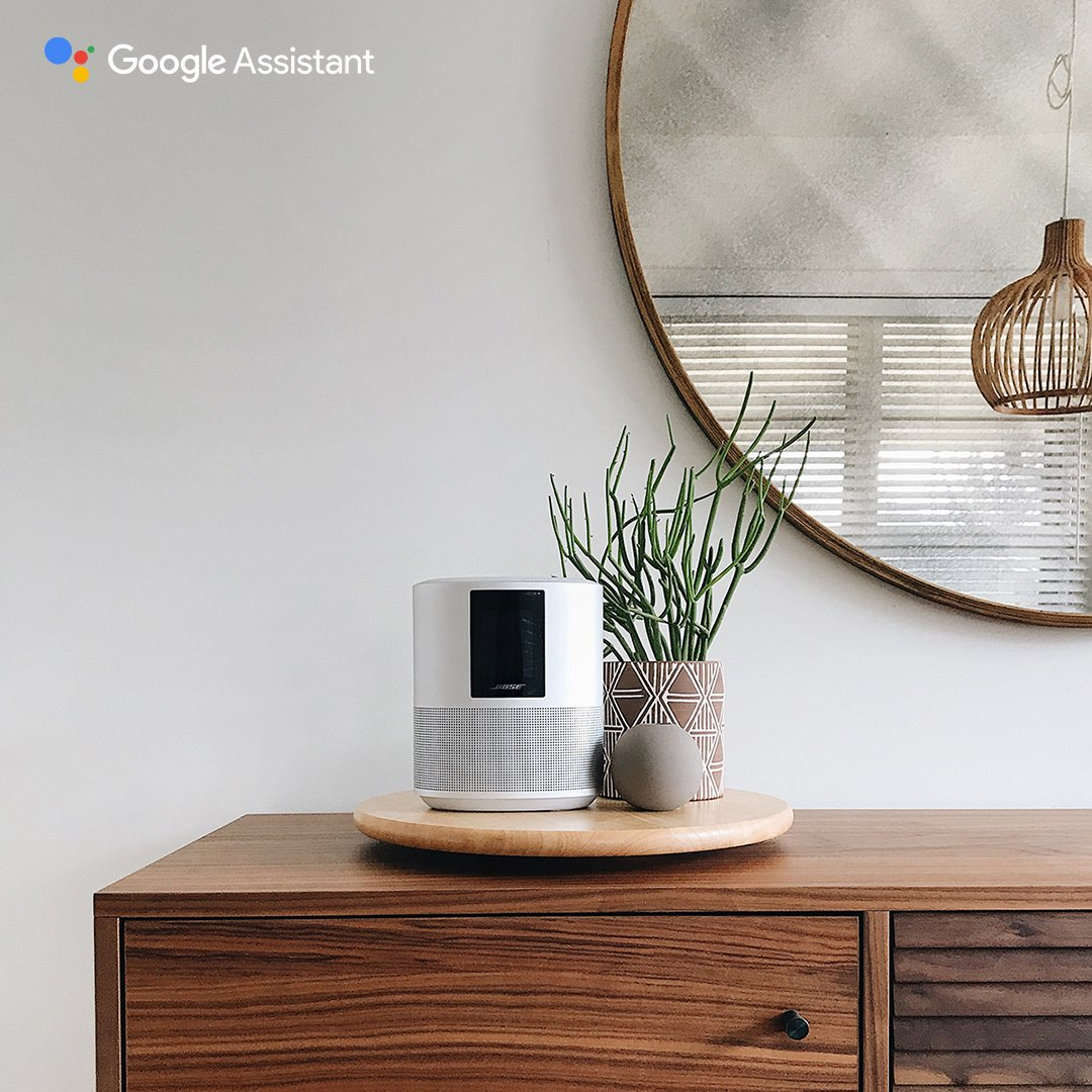 Our best just got even better. A new software update welcomes the @Google Assistant to the #BoseSmart family. #HeyGoogle https://bose.life/2VyOpbU   📷: @lisadieder  (U.S. only. Other countries coming soon)