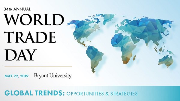 Gilbert B. Kaplan, Under Secretary of Commerce for International Trade U.S. Department of Commerce, to speak at 34th Annual World Trade Day, Wed., May 22. https://news.bryant.edu/bryants-34th-annual-world-trade-day-will-address-global-trends…   https://www.trade.gov/press/bios/kaplan.asp…