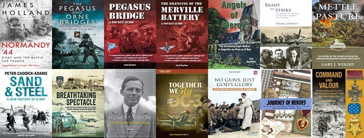Over a dozen authors attending the Daks over #Normandy event at Caen-Carpiquet Airport for book signings on 7 and 8 June. Get your tickets now! https://wrhstol.com/30wC8Zvpic.twitter.com/hxp4zB5V6p