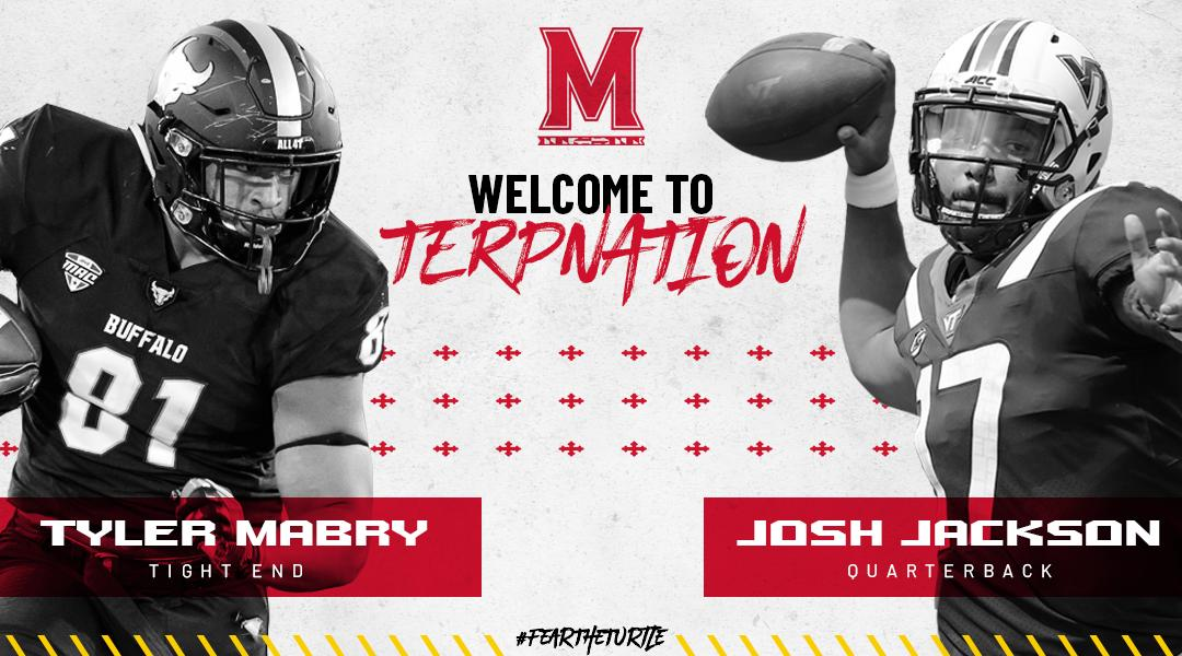 It&#39;s now OFFICIAL. OFFICIAL.  #TerpNation, welcome QB Josh Jackson and TE Tyler Mabry to the Maryland Football Family!  #FTT II #LOCKedIn  :  http:// bit.ly/2HuCat5  &nbsp;  <br>http://pic.twitter.com/hDzzQcjLf6